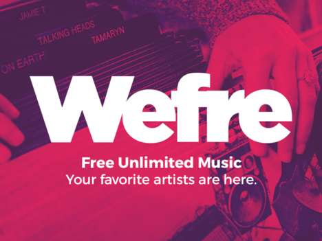 Advertisement-Free Music Platforms - This Website Offers Ad-Free Music Streaming Online