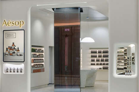 Whiteout Skincare Oases - Australian Skincare Brand Aesop Has Opened a Store at Galaxy Macau