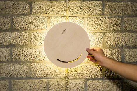 Interactive Illumination Solutions - The 'MATlamp' Wall Lamp Design Works via Rotational Movements