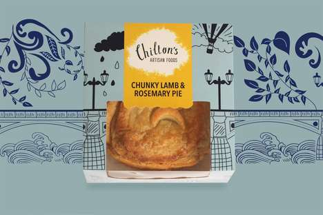 Aussie Meat Pie Branding - Chilton's Artisan Foods is a Melbourne-Based Meat Pie Brand