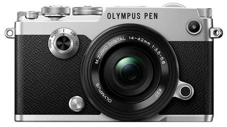 Vintage Mirrorless Cameras - The Olympus PEN-F Has a Vintage Design and High-Tech Features