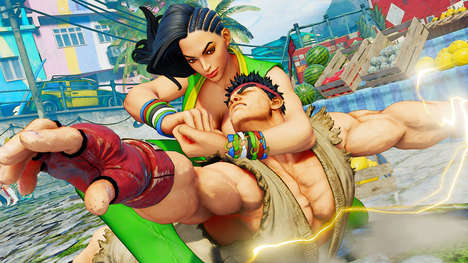 Iconic Combat Games - The Street Fighter V Game Offers Spectacular Gameplay For Modern Gamers