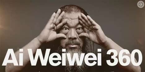 Virtual Art Exhibitions - 'Ai WeiWei 360' Lets You Enjoy An Immersive Tour Of the Artist's Exhibit
