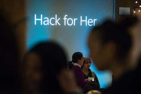 Female-Only Hackathons - The 'Hack for Her' Summit Address the Tech Industry's Lack of Diveristy