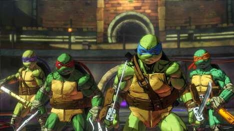 Ninja Turtle Games - The Mutants in Manhattan Game Features the Return Of the Crimefighting Turtles