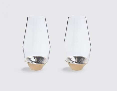 Flavor-Enhancing Champagne Glasses - The Sommelier Glasses Elevate the Wine Tasting Experience