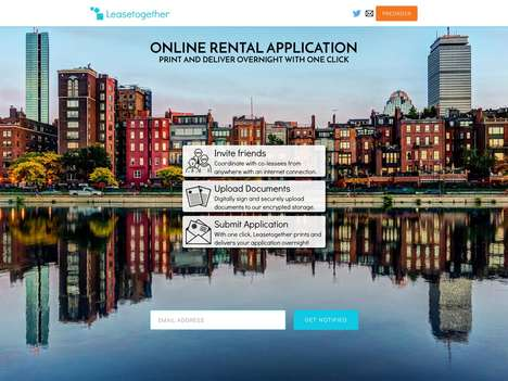 Online Apartment Rental Platforms - This Website Facilitates Group Apartment Rentals Online