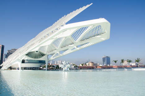 Top 60 Architecture Trends in January - From Futuristic Science Museums to Pooled Roof Stadiums