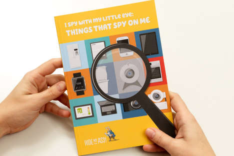 Online Privacy Children's Books - The Educational Literature for Kids Focuses on IoT Security