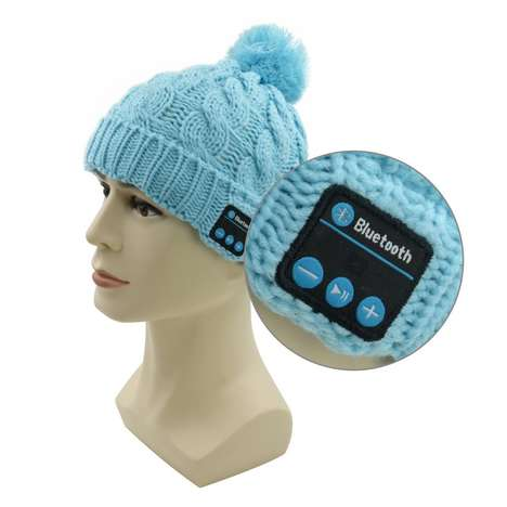 Tech-Embedded Beanies - The Super Stylish Bluetooth Hat From 007plus is a Warm Wearable Device