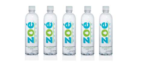 Purified Alkaline Waters - The Zoé Water Integrates More Minerals for a Healthier Lifestyle