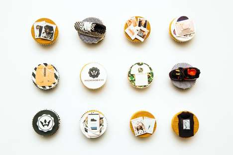 Branded Menswear Blog Cupcakes - These Baked Desserts Highlight Highsnobiety's Athletic Aesthetic