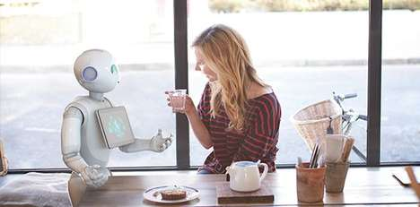 Robotic Retail Stores - A Sprint Smartphone Store in Japan will be Staffed with Pepper Robots