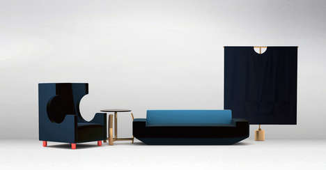 Asian-Influenced Furniture - The Oriental Series by Frank Chou Design Studio is Exotically Modern