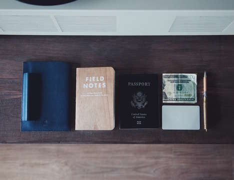 Creative Traveler Accessories - The Rockwell Passport and Journal Holder Enables Travel Writing