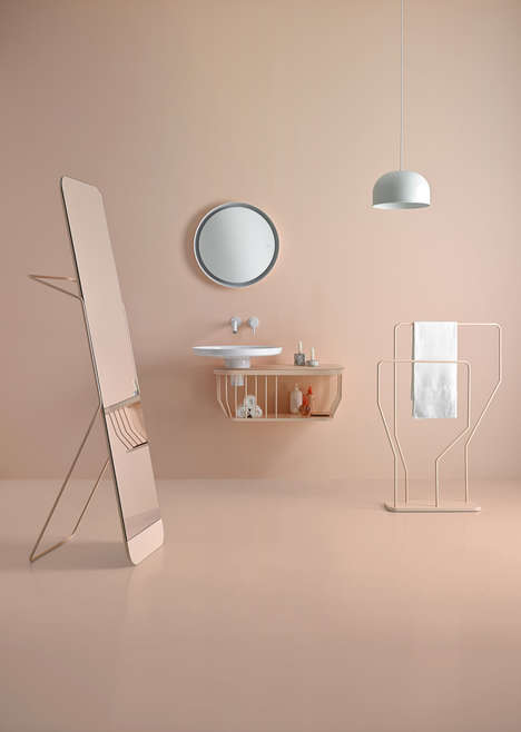 Contemporary Bathroom Concepts - The Inbani Bathroom Furniture Collection is Showcased by Oso Design