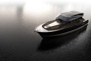 The Hyperlien 'Modern Classic Gran Torino' Yacht is Well-Appointed