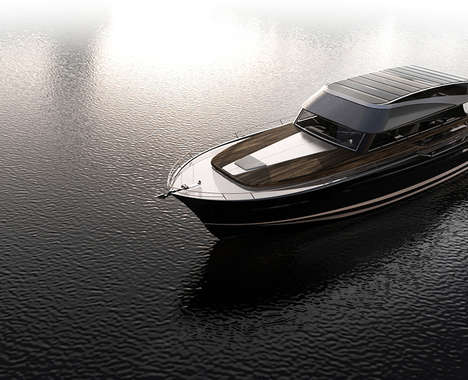 Car-Inspired Modern Yachts