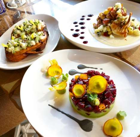 Experiential Vegan Restaurants - This New York City Eatery Specializes in High-End Vegan Dining