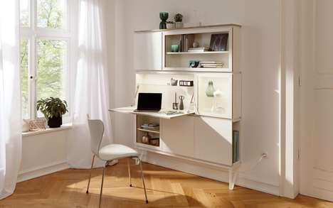 Modular Multi-Use Furniture - The 'Setup' Modular Furniture Kit Allows for Total Customization