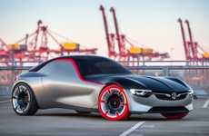 Touchpad-Accessible Race Cars - The GT Concept is Inspired By 1960s Opel and Vauxhall Staples
