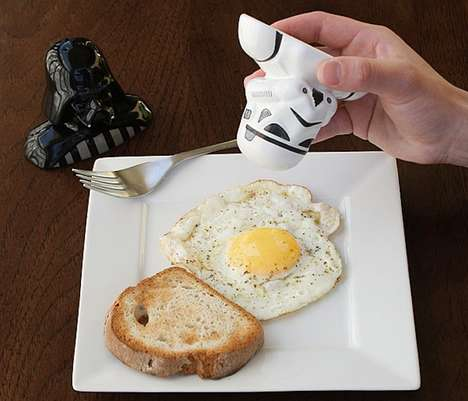 Villainous Sci-Fi Salt Shakers - These Star Wars Salt and Pepper Shakers are Inspired by Darth Vader