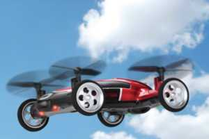 The Flying Car Remote Controlled Vehicle Offers Advanced Functionality