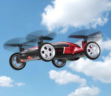 Hybrid Drone Toys - The Flying Car Remote Controlled Vehicle Offers Advanced Functionality