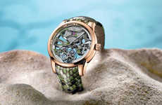 The Ulysse Nardin Skeleton Offers a Python Wristband and Transparent Face