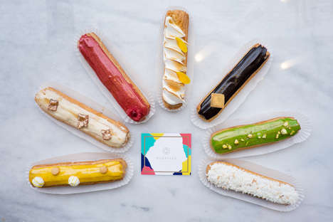 Exclusive Eclair Pastry Shops - 'Nugateau' is a Toronto Patisserie Serving Up Fresh Eclairs Daily