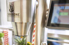 One-Touch Cocktail Machines - 'TenderOne' is a Drink Machine That Can Prepare 200 Cocktail Options
