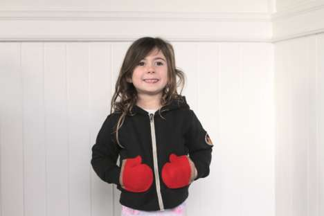 Mitten Pockets Hoodies - The Toasty Time Hoodie Has Built-In Mittens Where Pockets Would Be