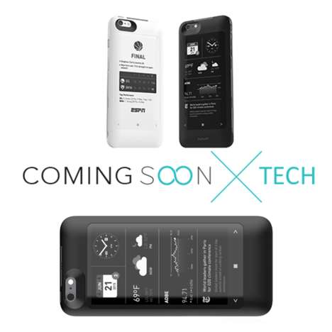 E-Ink Phone Cases - 'popSLATE' Gives Your iPhone a Second Screen