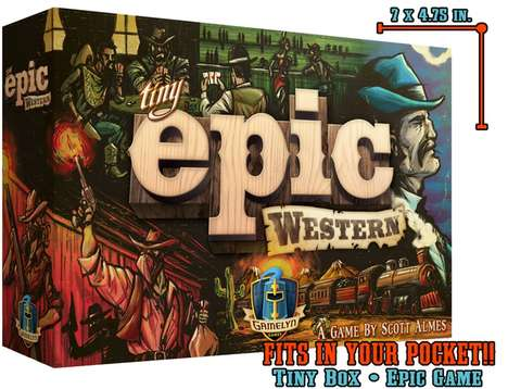 Speedy Western Card Games - The 'Tiny Epic Western' Board Game Can be Played by One to Four Players