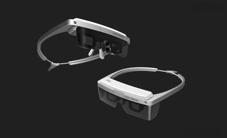 Customizable Display Headsets - The 'TeraGlass' Head-Mounted Display Can Display Both 2D and 3D