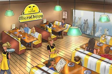 Pet-Friendly Diners - The 'MicroChippy' is a Dog-Friendly Restaurant for Canines and Owners