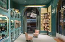 Distinctive Teal-Hued Shops - A Second Aesop Milan Shop Has Opened in the Italian Fashion Capital