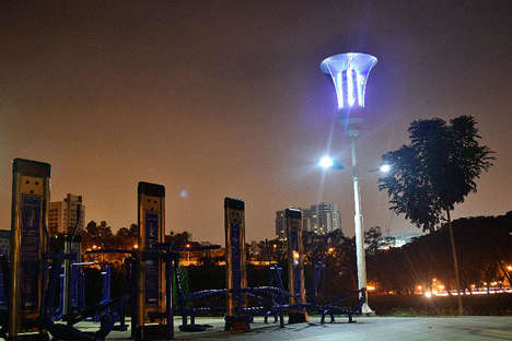 Mosquito-Killing Streetlights - These Smart Streetlights Perform Many Different Functions