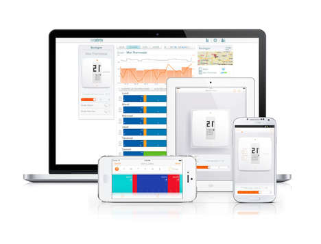 Device-Oriented Thermostats - The Netatmo Wireless Thermostat is Best Controlled via Smartphone