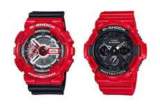 G-SHOCK is Releasing Two Red Watches for Valentine's Day