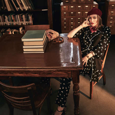 Celebrity Bookworm Editorials - This Dakota Johnson Photoshoot Shows Off the Star's Blonde Locks