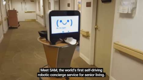 Interactive Nursing Home Robots - This Nursing Robot Provides Care for Senior Citizens