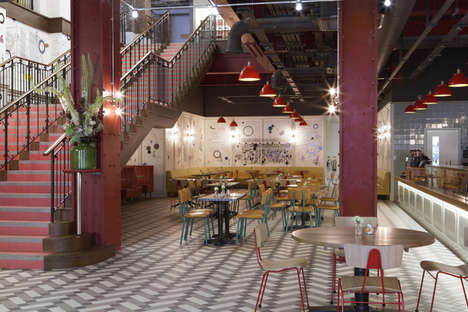Retro Art House Cinemas - The Picturehouse Central in London sits in a historic building
