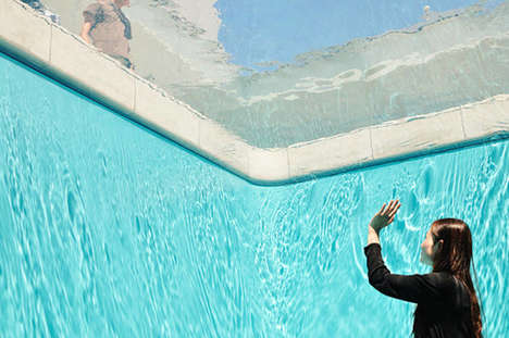 Sublime Swimming Pool Installations - This Leandro Erlich Art Project Plays With Perception