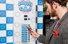 Breathalyzer-Activated Condom Machines - Dating Platform Match Made a Machine to Encourage Sober Sex
