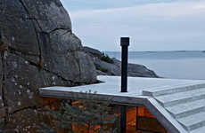 Slopping Cliffside Homes