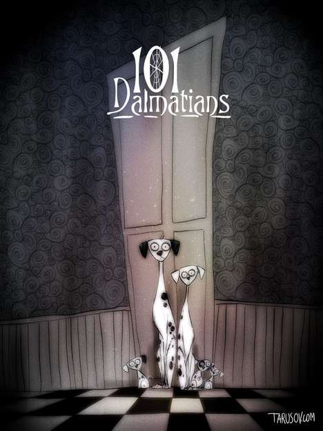 Creepy Disney Makeovers - These 10 Disney Movies Have Been Reimagined as Tim Burton Films