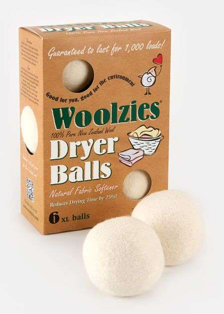 Sustainable Laundry Supplies - These Wool Dryer Balls are Made From All-Natural Fibers