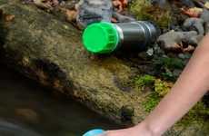 Speedy Water Purifiers - The Grayl Water Purifier Allows Users to Drink from Nearly Any Water Source