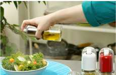 Infusing Oil Misters - The CHEFVANTAGE Olive Oil Sprayer Cuts Calories by Infusing Air into Oils
